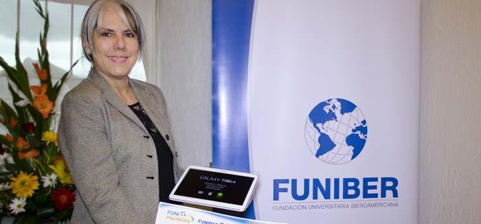 FUNIBER entrega os prêmios do concurso FUNIMUNDIAL à ganhadora