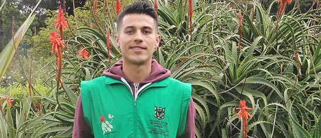 Aluno bolsista pela FUNIBER participa no IX Congresso Colombiano de Botânica