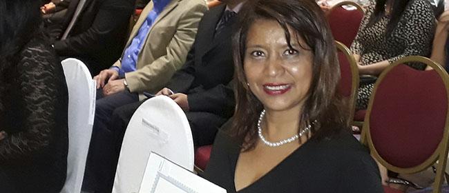 Opiniões FUNIBER: Carlota Palacios, aluna salvadorenha bolsista pela FUNIBER