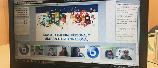 São realizadas as primeiras práticas virtuais do Mestrado em Coaching Individual e Liderança Organizacional