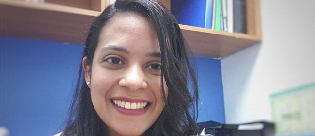 Opinião de Sarahí Piñate, aluna venezuelana, com bolsa de estudos da FUNIBER