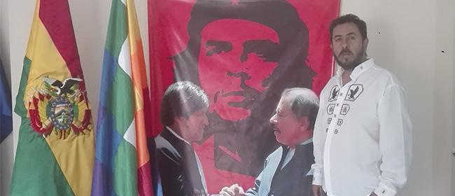Opinião de José Percy Paredes, aluno patrocinado pela FUNIBER e embaixador da Bolívia na Nicarágua