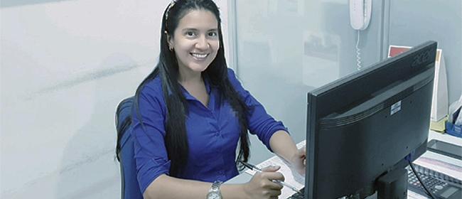 Opinião de Sandra López, estudante colombiana de Mestrado patrocinada pela FUNIBER