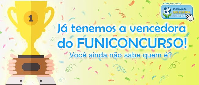 """Brasil ganha a 2ª edição do FUNICONCURSO """"Publicação Solidária"""""""