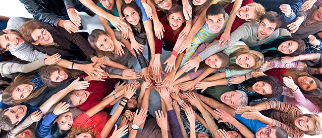 Compartilhe ideias solidárias para mudar o mundo