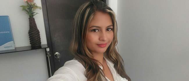 Viviana Osorio, terceira classificada do concurso Publicação Solidária da FUNIBER