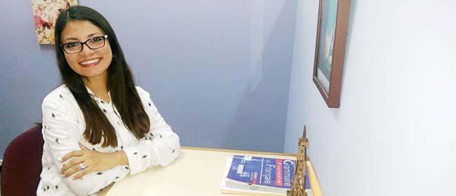 Opinião de Ana Cristina Velasquez, aluna do Mestrado em Educação patrocinado pela FUNIBER