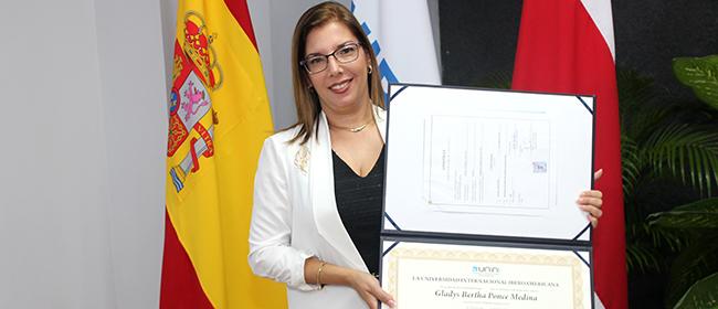 Opinião de Gladys Ponce Medina, aluna bolsista do Mestrado em Gestão e Auditorias Ambientais