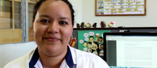 Opinião de Karla Sofía Hernández, aluna salvadorenha bolsista pela FUNIBER