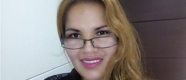 """Shirley Soria, aluna boliviana bolsista pela FUNIBER: """"Não esperava aprender tanto"""""""