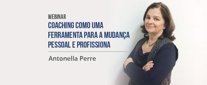 """Sucesso de participação no Webinar """"Coaching como ferramenta de mudança pessoal e profissional"""""""