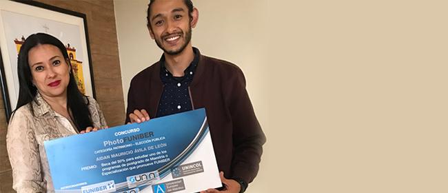 Aidan Mauricio Ávila, um dos vencedores do PHotoFUNIBER '19, avalia de forma positiva sua participação no concurso