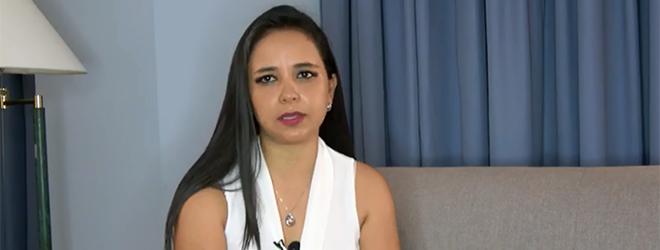 Opinião de Evelyn Antonia Cevallos Posso, aluna patrocinada pela FUNIBER