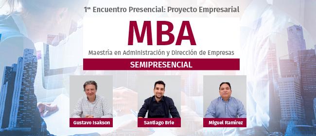 Entrevista com os docentes que coordenarão as atividades do 1º Encontro Presencial de MBA Semipresencial