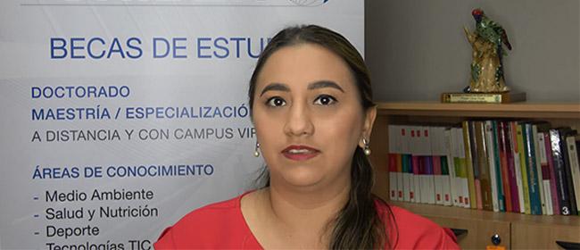 Opinião de Salma Pierina Peralta Moarry, estudante equatoriana com bolsa pela FUNIBER