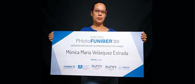 Entrevista com Mónica María Velásquez Estrada, uma das vencedoras do concurso PHotoFUNIBER