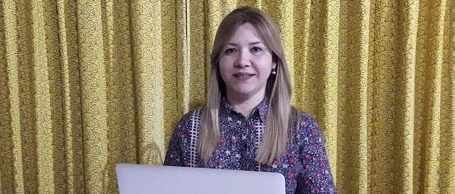 Entrevista com Catalina Elizabeth Benítez Ramírez, estudante do Paraguai bolsista pela FUNIBER