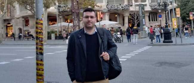 Entrevista com Jorge Javier Aira, estudante argentino com bolsa da FUNIBER