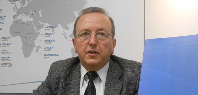 Entrevista com o Dr. Alberto Gaspar Vera no 15º aniversário do Departamento Acadêmico de Projetos (DAP) da FUNIBER